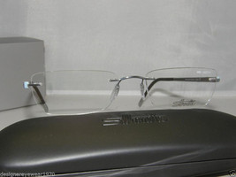 New Authentic Silhouette Rimpless Eyeglasses 6696 6050  51-17 Made In Au... - $150.44