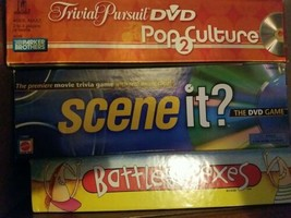 Scene It Movie Trivia 1st Edition DVD Game Mattel 2003  - $4.95