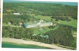 Grand Hotel Mackinac Island Michigan Aerial View L Gridley Photo 1961 Postcardr - $4.99