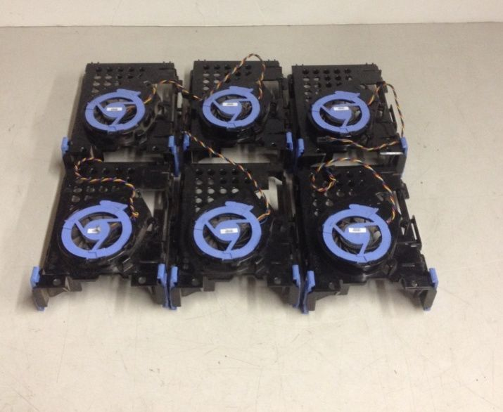 QTY Lot 6 Dell Hard Drive Caddy Tray Fan For and 39 similar