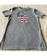 Colorado Rockies Baseball Boys Gray Red Blue Flag CR Short Sleeve Shirt ... - $8.33