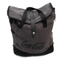 Coca-Cola Tablet Laptop Bag Lined Padded Gray - BRAND NEW - $39.55