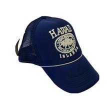 Hawaiian Headwear Hawaii Islands Men's Hat Trucker Cap Blue Snapback  - $14.84