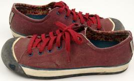 Keen Coronado Red Dahlia Women's Lace Up Shoes Sz 9.5 M image 3