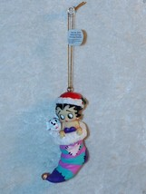 Betty Boop and Pudgy Stocking Ornament Westland Giftware #20143 Resin - $20.95