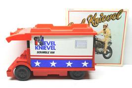 "Vintage 1973 Ideal Toy Evel Knievel Scramble Van+1974 Amherst Records ""Ballad"" - $41.13"