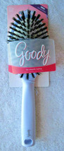 Goody Cushion Hair Brush Smooth Styling Soft Natural Boar Bristles White... - $12.00