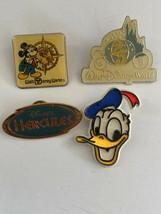 Lot Of 4 Disney Pins WDW 25th Anniversary; Hercules; Mickey World Epcot Donald - $12.00