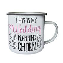 this is my wedding planning charm Retro,Tin, Enamel 10oz Mug cc624e - $246,74 MXN
