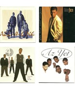Lot of 4 CDs All 4 One Babyface 4PM Az Yet - No Cases - $1.99