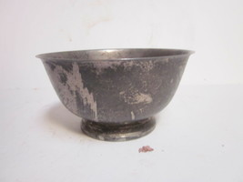 VINTAGE SILVER PLATED ONIEDA PAUL REVERE REPRODUCTION SERVING BOWL - $9.99