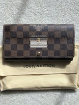 Authentic Louis Vuitton Limited Edition Trunks Sarah Wallet DE - $668.25