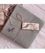 Sage 32ct linen 20x20 cut cross stitch fabric Nikyscreations  - $24.00