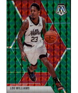 2019-20 Panini Mosaic Green #68 Lou Williams Clippers - $2.95