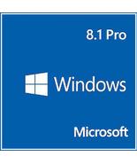 Windows 8.1 Pro Professional 32/64 Bit Key & Download - $9.90