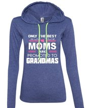 Only The Best Moms Are Promoted To Grandmas T Shirt, Family T Shirt (Anvil Ladie - $37.99+