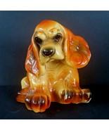 Chalkware Cocker Spaniel DOG Figurine Vintage Plaster Milwaukee Carnival... - $79.18