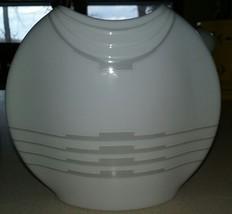 Vintage Kaiser W Germany Bisque Modern Art Gray & White Sleek Design - $15.00