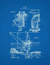 Diving Suit Patent Print - Blueprint - $7.95+