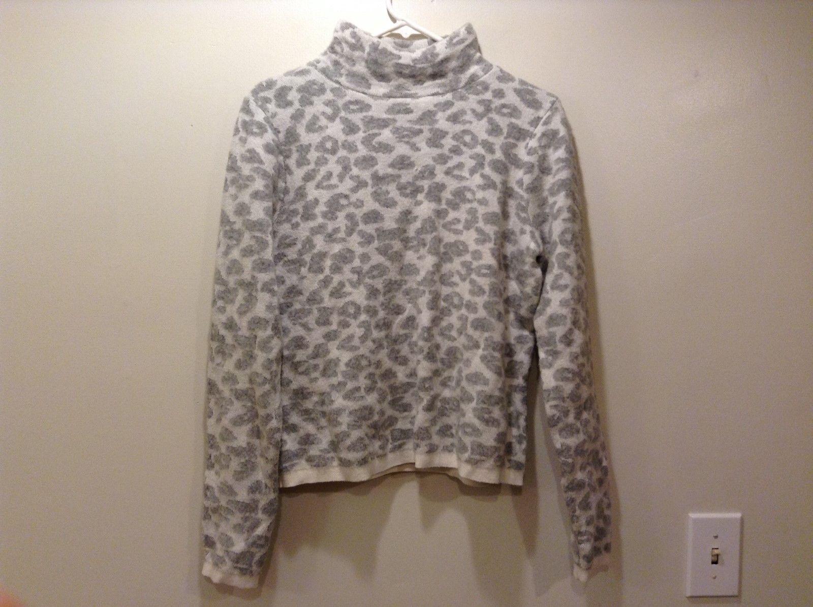 Ann Taylor LOFT Ivory Colored Crew Neck Sweater Sz M