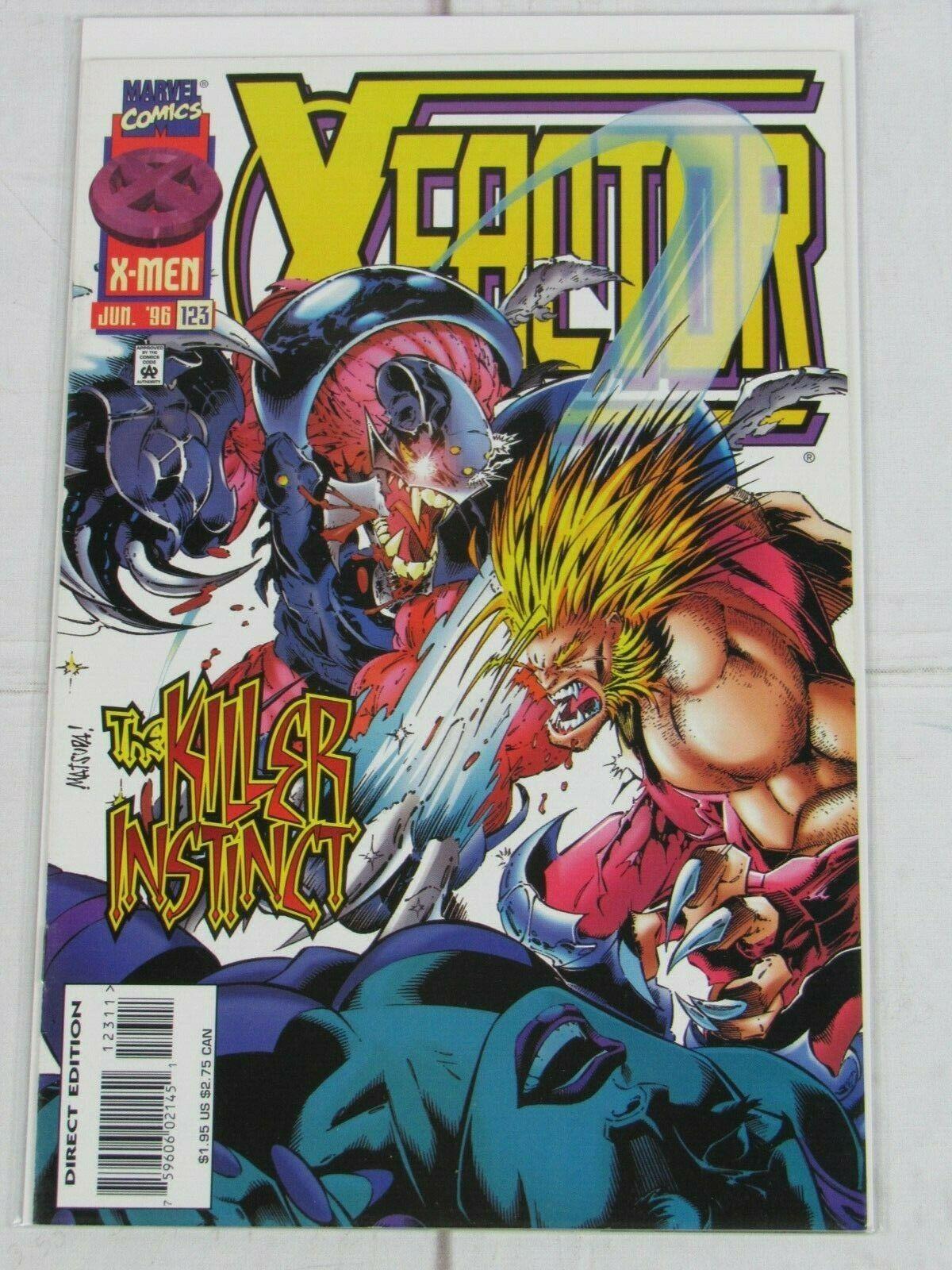 X-Factor #122-128 Lot of 7 comics 1996 Marvel Comics - C5050