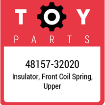 48157-32020 Toyota Insulator, New Genuine OEM Part - $12.99
