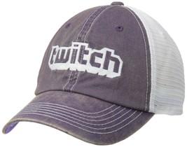 Twitch Logo Trucker Hat Purple/White - £10.23 GBP