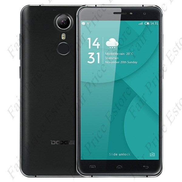 "Primary image for DOOGEE F7 MTK6797 Deca-core 5.5"" FHD Android 6.0 4G Phone 13MP CAM (Black)"