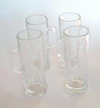 Libby USA Double Shot Glass Miniature Stein Mug Set Of 4 Vintage - $27.69