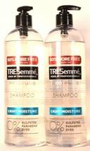 2 Bottles TRESemme 24 Oz Pro Pure Moisture Shampoo 0% Sulfates & Parabens - $28.99