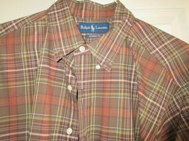 Ralph Lauren , Size XL / 17, Men's Long Sleeve Shirt , 100% Cotton , Classic Fit - $29.95