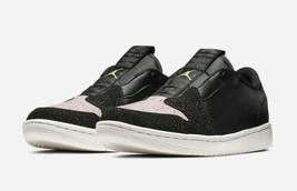 New Women's Nike Air Jordan 1 Retro Low Slip On Shoe Size 8 Black/Red AV... - $82.64
