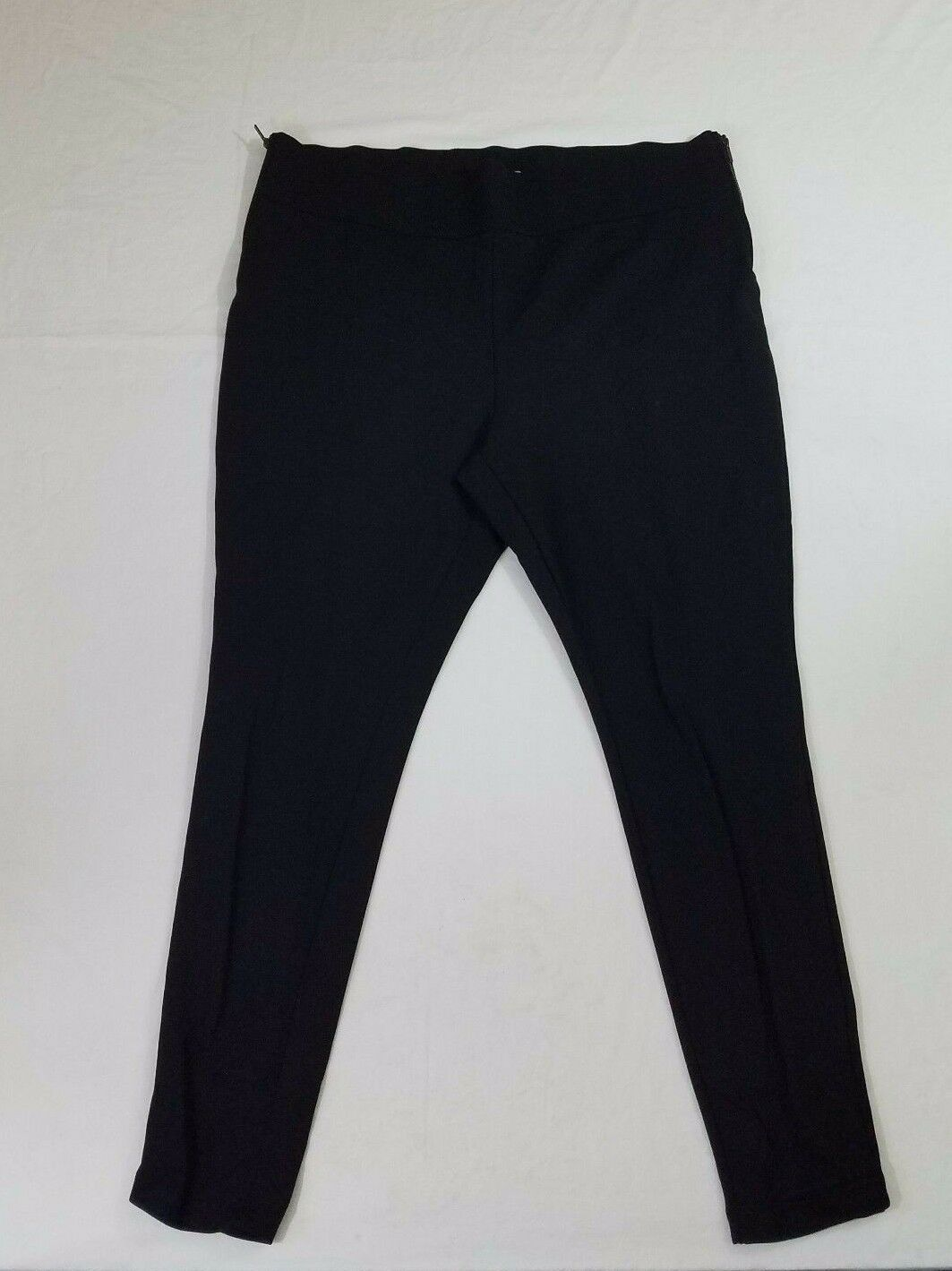 Old Navy Womens Size XXL Dress Pants Black Stretch Zipper Opening Both Sides
