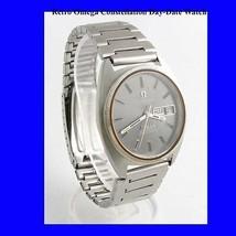 Mint Steel Retro Omega Constellation Day Date Wrist Watch 1974 - $1,450.84