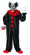 California Costumes Last Laugh The Clown Set Black/red One Size - $65.87
