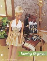 Evening Elegance, Annie's Fashion Doll Plastic Canvas Pattern Club FP25-01 - $1.95