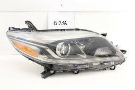 OEM Headlight Head Light Lamp Toyota Sienna Halogen LED 2015-2010 minor flaw RH - $316.80