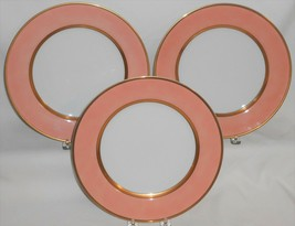1978 Set (3) Fitz & Floyd RENAISSANCE PEACH PATTERN Dinner Plates MADE I... - $98.99