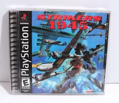 Strikers 1945 (Sony PlayStation 1, 2001) PS1 Complete  - $17.95