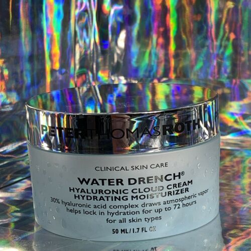 Full Size NEW Peter Thomas Roth NWOB WATER DRENCH CLOUD CREAM FULL SIZE 1.6 oz