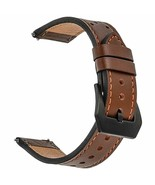 Galaxy Watch 46mm Band for Samsung Gear S3 Frontier Classic 22mm Leather... - $26.10