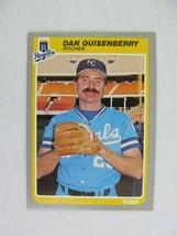 Dan Quisenberry Kansas City Royals 1985 Fleer Baseball Card Number 211 - $0.98