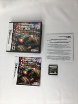Monster Jam: Path of Destruction (Nintendo DS, 2010) Complete Case Game Booklet - $13.54