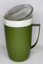 Vintage Sunfrost Therm-O-Ware Avocado Green Pitcher - Made in USA - 2QRT - $22.76