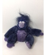 Applause Disney Tarzan Terk Going Gorilla Purple Blue 9in Small Plush St... - $13.45