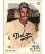 2019 Allen and Ginter #129 Jackie Robinson NM-MT Dodgers - $0.75