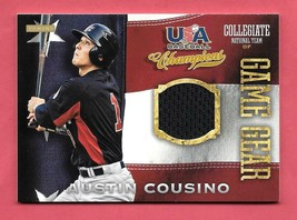 2013 Austin Cousino Panini USA Champions Rookie Game Gear Jersey - Seattle - $1.89