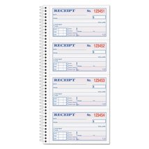 Adams Money and Rent Receipt Book, 2-Part Carbonless, 2.75 x 4.75 Inch D... - $18.38