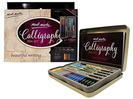 Mont Marte Calligraphy Set, 33 Piece. Includes Calligraphy Pens, Calligr... - $23.24