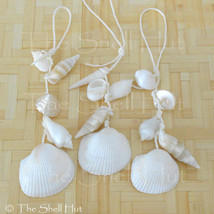Beach Seashell Ornament Shell Wall Garland Christmas Seaside Coastal Beach House image 1